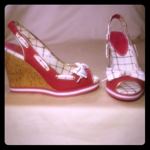 Coach Shoes - Beautiful Designer Wedge